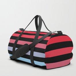 Rainbow Stripes #5 Duffle Bag