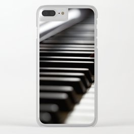Musician play piano Clear iPhone Case