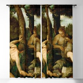 "Paolo Veronese (Paolo Caliari) ""Adam and Eve after the Expulsion from Paradise"" Blackout Curtain"
