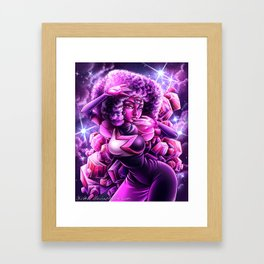 Stronger Than You - Made of Love Framed Art Print