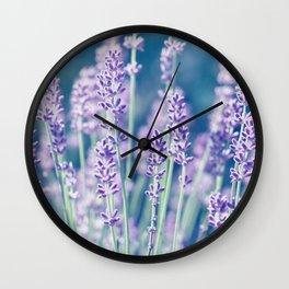 Lavender 122 Wall Clock