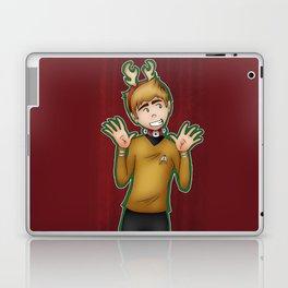 Happy Holidays Star Trek Style Laptop & iPad Skin