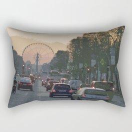 Ferris Wheel at Place de la Concorde, Paris Rectangular Pillow