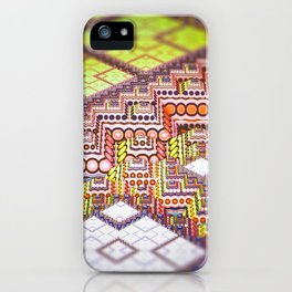 infrastructure II. Abstract Design iPhone Case