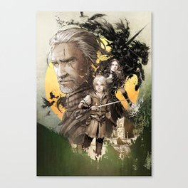 The witcher Ⅲ Canvas Print