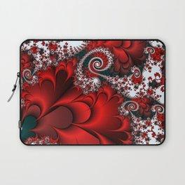 Red Sweetheart Fractal Laptop Sleeve