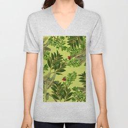 Leaves in Summer Unisex V-Neck