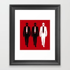 Threemen Framed Art Print