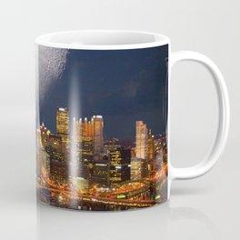 Spacey Pittsburgh Coffee Mug