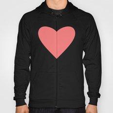 Coral Heart Hoody
