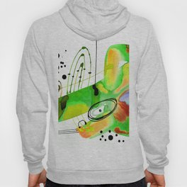 Abstract Serenade 4b by Kathy Morton Stanion Hoody