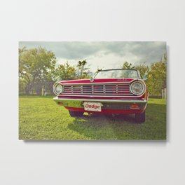 Ready for a ride! Metal Print