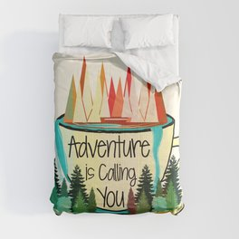 Adventure is Calling You Comforters