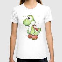 yoshi T-shirts featuring Yoshi by Olechka