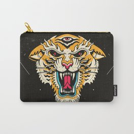Tiger 3 Eyes Carry-All Pouch
