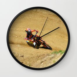 Turning Point Motocross Champion Race Wall Clock