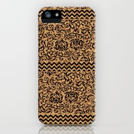 Golden Renaissance Damask iPhone Case