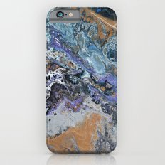 Molten Time (flow art on canvas) Slim Case iPhone 6s