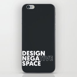 Design the Space iPhone Skin