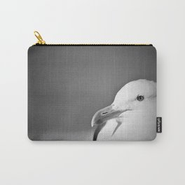 Profile close up of seagull face Carry-All Pouch