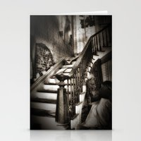 nicki Stationery Cards featuring Stairway to heaven by Tnt intimate photo