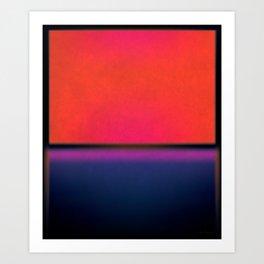 After Rothko Tall 5 Art Print