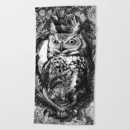 Nightwatch - by Eric Fan and Garima Dhawan  Beach Towel