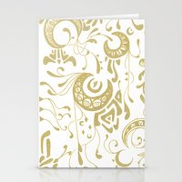 nouveau Stationery Cards featuring Nouveau by CyberneticGhost