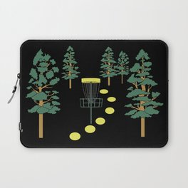 Disc Golf Stupid Trees Woods Men Women Court Gift Laptop Sleeve