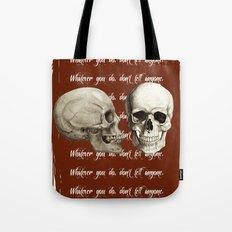 Lost Art of Keeping A Secret Tote Bag
