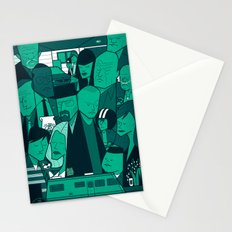Breaking Bad (green version) Stationery Cards