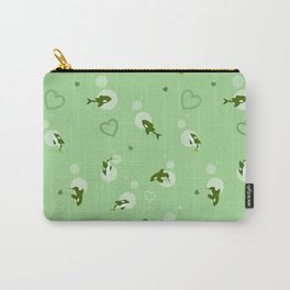Green Orca Carry-All Pouch