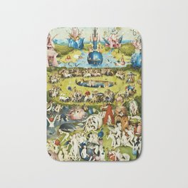 Hieronymus Bosch - The Garden Of Earthly Delights Bath Mat