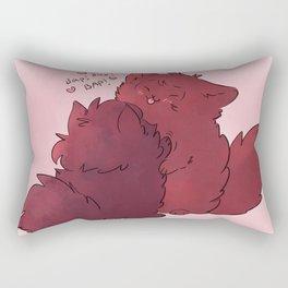 Fluffy baps Rectangular Pillow