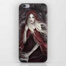 Red Riding Hood (Chaperon Rouge) iPhone & iPod Skin