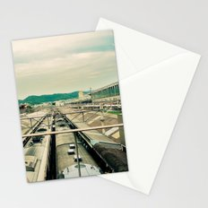 Train station Stationery Cards