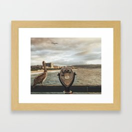 The Best View is Right Next to You Framed Art Print