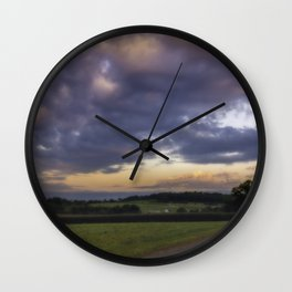 Beauty of rural New Jersey Wall Clock