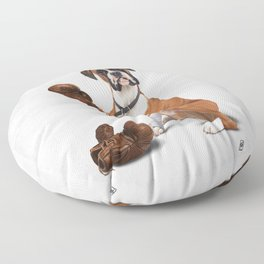 The Boxer (Wordless) Floor Pillow