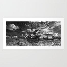 MACROCOSMOS 04 Art Print