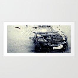 End Of Watch  Art Print