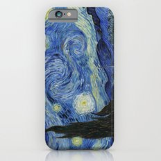 Starry Night by Vincent van Gogh iPhone 6 Slim Case