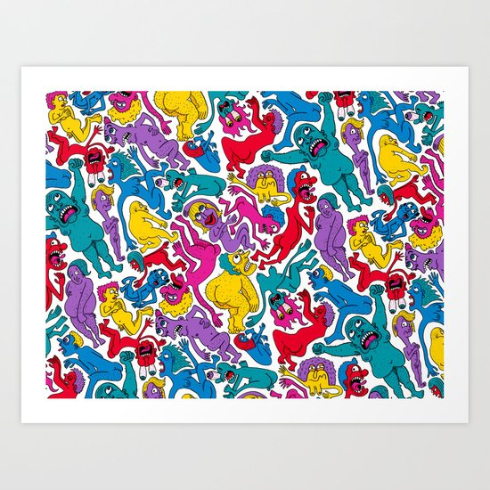 It Bares Repeating Art Print