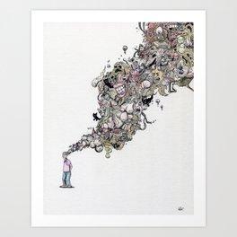 Musings Art Print