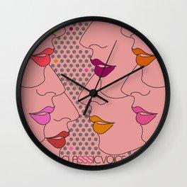 Classsic Voice Wall Clock