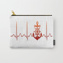 Sailor Heartbeat Carry-All Pouch