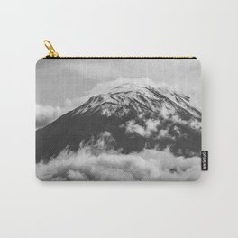 Volcano Misti in Arequipa Peru Covered by Clouds Carry-All Pouch