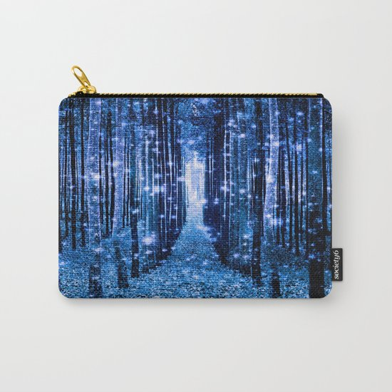 Magical Forest Bluest Blues Carry-All Pouch