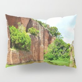 Abandoned Rock Quarry Pillow Sham