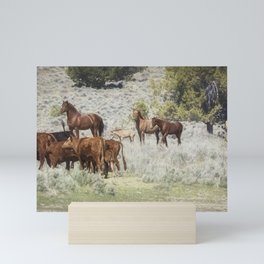 Meeting of the Herds Mini Art Print